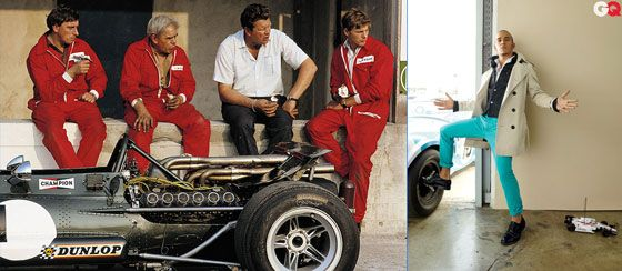 Vintage F1 Mechanics seeing Lewis Hamilton in GQ Magazine. WTF?